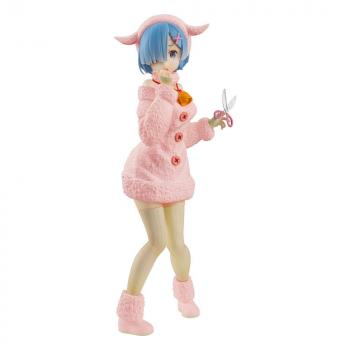 Re:ZERO SSS PVC Figure - Rem The Wolf and the Seven Kids Pastel Color Ver.