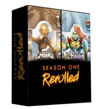 Dice Throne Card Game - Season One Rerolled Box 02 - Monk vs Paladin