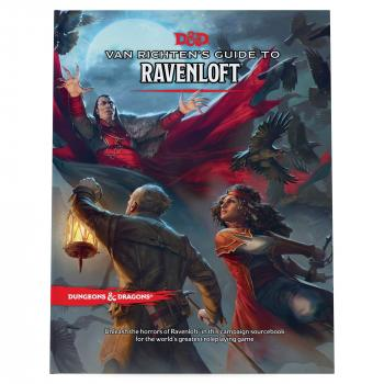 Dungeons and Dragons RPG Adventure - Van Richten's Guide to Ravenloft