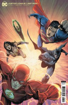 JUSTICE LEAGUE LAST RIDE #1 CVR B MIGUEL MENDONCA CARD STOCK VAR