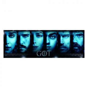 Game of Thrones Panorama Jigsaw Puzzle - Faces (1000 pieces)