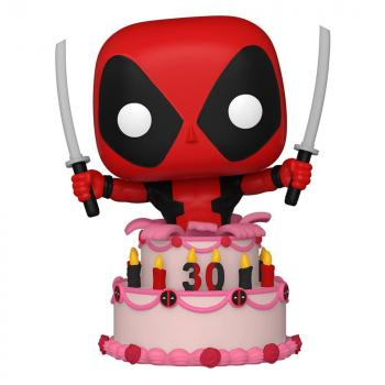 Marvel Deadpool 30th Anniversary Pop Vinyl Figure - Deadpool in Cake