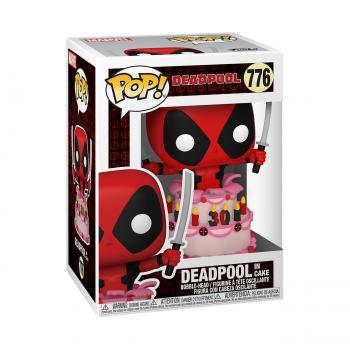 Marvel Deadpool 30th Anniversary Pop Vinyl Figure - Deadpool in Cake