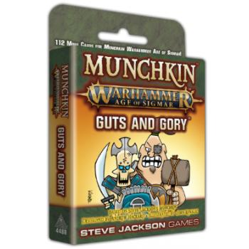 Munchkin Warhammer Age of Sigmar Card Game Guts and Gory Expansion