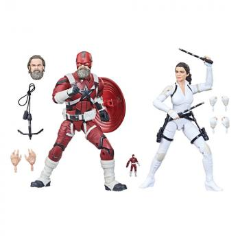 Black Widow Marvel Legends Action Figure - 2-Pack 2021 Red Guardian & Melina