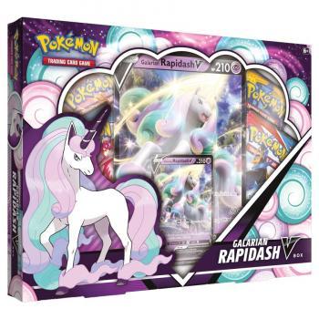 Pokémon Galarian Rapidash V Box