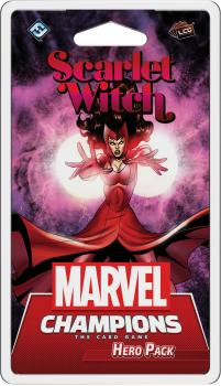 Marvel Champions Living Card Game - 15 Ms Scarlet Witch Pack