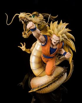 Dragon Ball Z FiguartsZERO PVC Figure - (Extra Battle) Super Saiyan 3 Son Goku