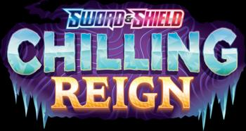 Pokémon Sword and Shield 6 Chilling Reign Sleeved Booster *English Version*