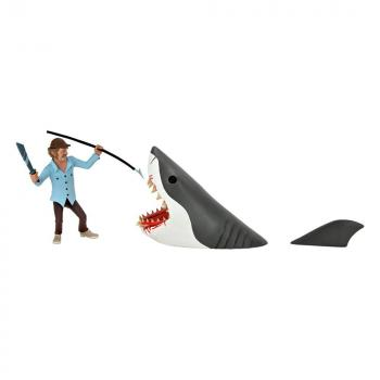 Jaws Action Figures - 2-Pack Toony Terrors Jaws & Quint