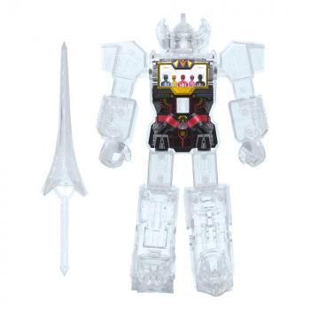 Transformers Action Figure - Super Cyborg Cyborg Megazord (Clear)