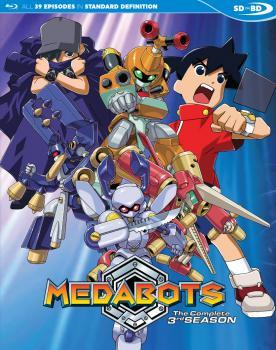 Medabots Season 03 Blu-ray