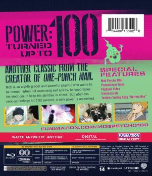 Mob Psycho 100 Classics Blu-ray