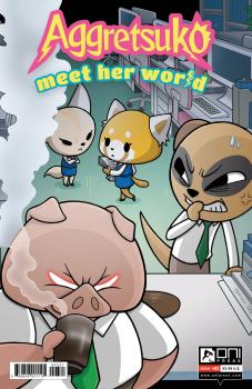 AGGRETSUKO MEET HER WORLD #3 CVR B HICKEY