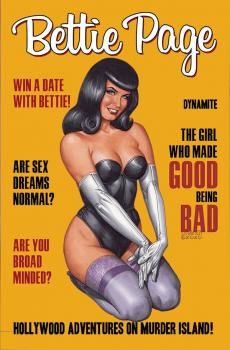 Bettie Page Hollywood Adventures Murder Island TP (Trade Paperback)