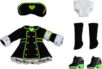 Original Character Parts for Nendoroid Doll Figures Outfit Set Nurse - Black