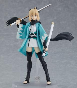 Fate/Grand Order Action Figure - Figma Saber/Okita Souji Ascension Version