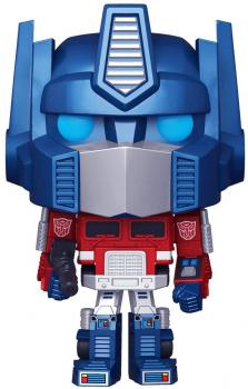 Transformers Pop Vinyl Figure - Optimus (Metallic / Special Edition)