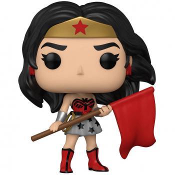 Wonder Woman 80th Anniversary Pop Vinyl Figure - Wonder Woman (Superman: Red Son)