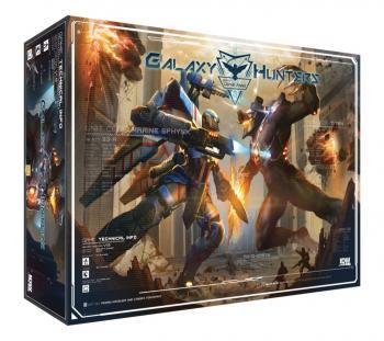 Galaxy Hunters Board Game
