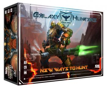 Galaxy Hunters Board Game Expansion Set New ways to hunt