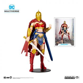 DC Multiverse Action Figure - LKOE Wonder Woman with Helmet of Fate