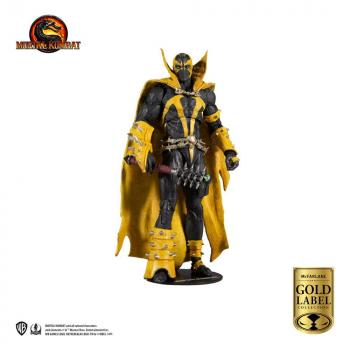 Mortal Kombat Action Figure - Spawn (Curse of Apocalypse) (Gold Label Series)