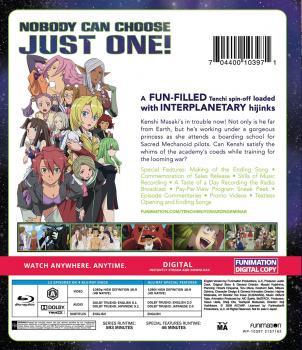 Tenchi Muyo War on Geminar Classics Blu-ray