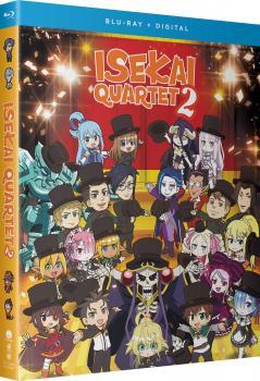 Isekai Quartet 2 Season 02 Blu-ray