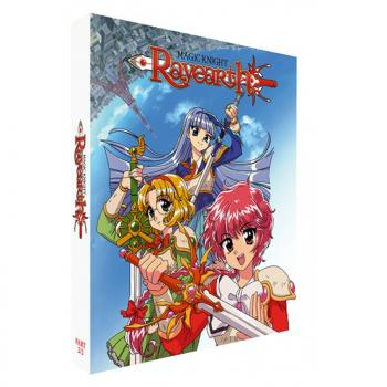Magic Knight Rayearth Part 02 Blu-Ray UK Collector's Edition