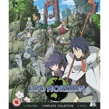 Log Horizon Season 1 & 2 Blu-Ray UK Collector's Edition