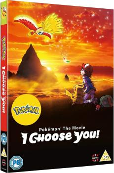 Pokemon Movie I Choose You DVD UK