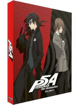 Persona 5 The Animation Part 02 Blu-Ray UK Collector's Edition