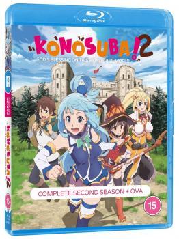 Konosuba Season 2 Blu-Ray UK