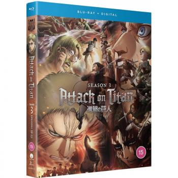 Attack on Titan Season 03 Complete Collection Blu-Ray UK