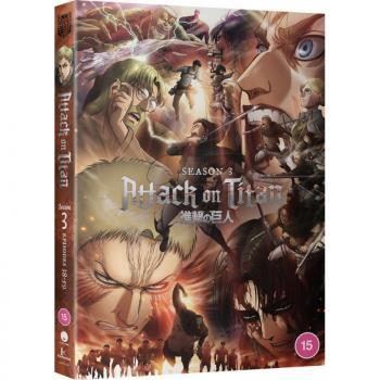 Attack on Titan Season 03 Collection DVD UK