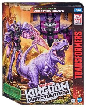 Transformers Generations War for Cybertron: Kingdom Leader Class Action Figure - Megatron (Beast)