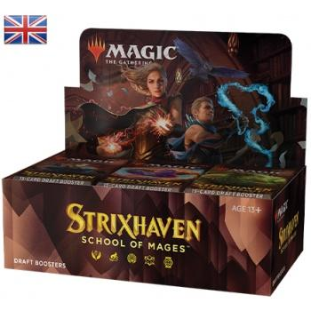 Magic the Gathering Strixhaven School of Mages Draft Booster Display (36) english