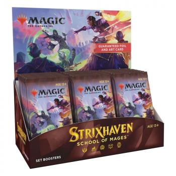Magic the Gathering Strixhaven School of Mages Set Booster Display (30) english