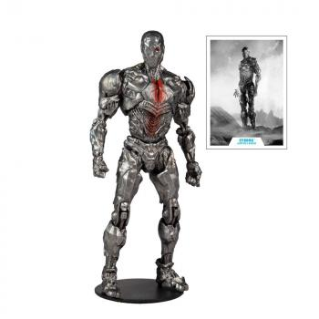 DC Justice League Movie Action Figure - Cyborg (Helmet)