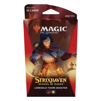 Magic the Gathering Strixhaven School of Mages Theme Booster Lorehold
