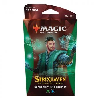 Magic the Gathering Strixhaven School of Mages Theme Booster Quandrix