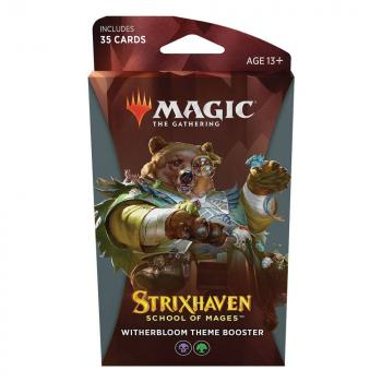 Magic the Gathering Strixhaven School of Mages Theme Booster Witherbloom