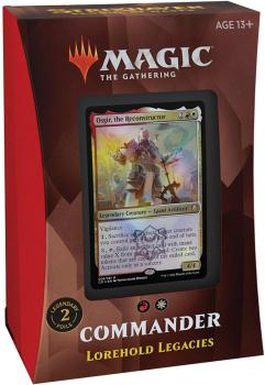 Magic the Gathering Strixhaven School of Mages Commander Deck Lorehold Legacies