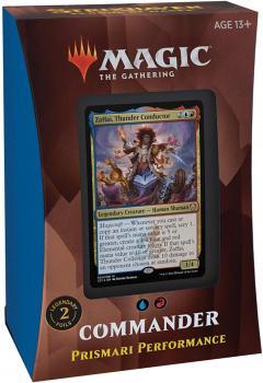 Magic the Gathering Strixhaven School of Mages Commander Deck Prismari Performance