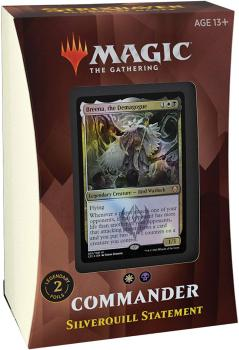 Magic the Gathering Strixhaven School of Mages Commander Deck Silverquill Statement