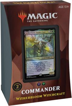 Magic the Gathering Strixhaven School of Mages Commander Deck Witherbloom Witchcraft
