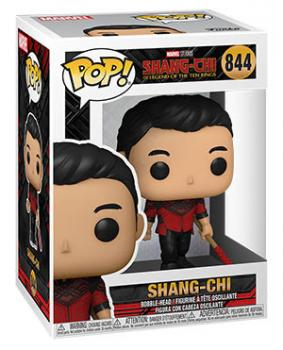 Shang-Chi and the Legend of the Ten Rings Pop Vinyl Figure - Shang-Chi (with Staff)