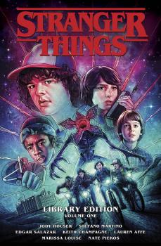 Stranger Things Library Edition HC Vol 01 (Hardcover)