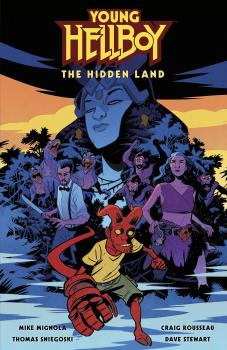 Young Hellboy The Hidden Land HC (Hardcover)